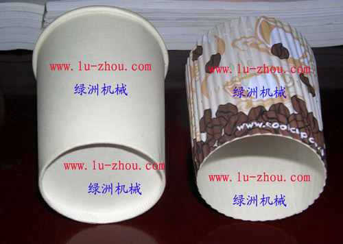 corrugated paper cups